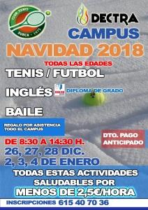 CAMPUS DE NADAL 2018-2019 / CAMPUS DE NAVIDAD 2018-2019