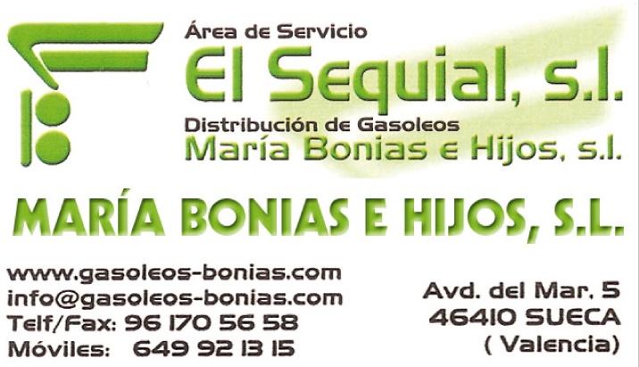 MARÍA BONIAS E HIJOS, S.L.