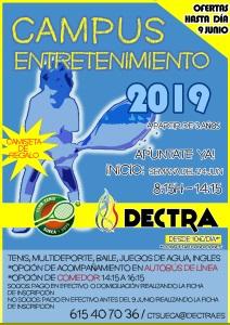 CAMPUS TENIS ENTRETENIMIENTO 2019