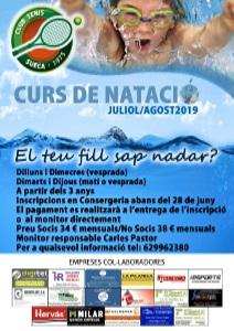 CURS NATACIÓ 2019