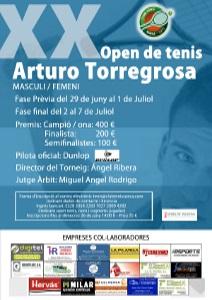 XX OPEN DE TENIS ARTURO TORREGROSA